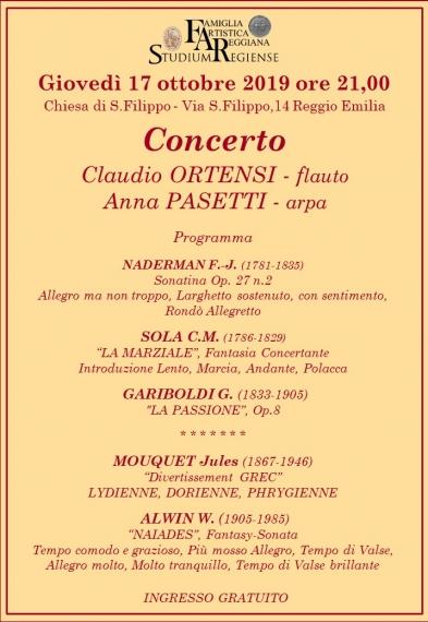 Concerto 17 ottobre 2019